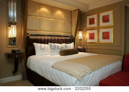 A Luxurious Hotel Suite