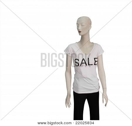 Mannequin In For Sale Tshirt