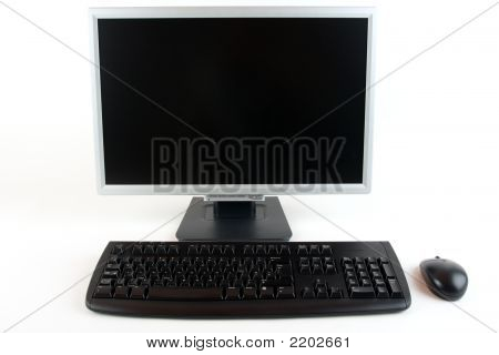 Computer, Keyboard And Mouse