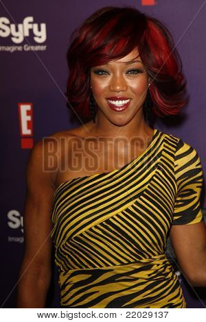 SAN DIEGO - JUL 23: Alicia Fox at the SyFy/E! Comic-Con Party at Hotel Solamar in San Diego, California on July 23, 2011.