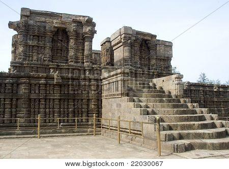 Stone Stairway To Pedestal