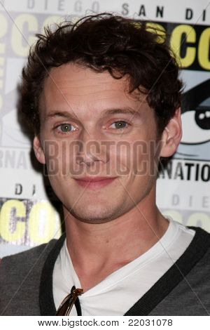 SAN DIEGO - JUL 22:  Anton Yelchin at the 2011 Comic-Con Convention - Day 2 at San Diego Convention Center on July 22, 2010 in San DIego, CA.