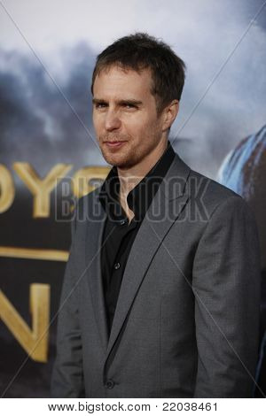 LOS ANGELES - JUL 23: Sam Rockwell at the 'Cowboys & Aliens' world premiere at the Civic Theater in San Diego, California on July 23, 2011