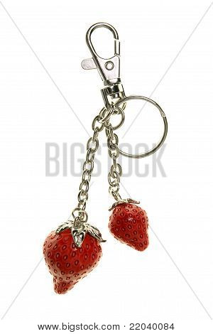 Keyring Strawberry