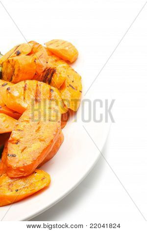 Grilled Carrot On ? Plate