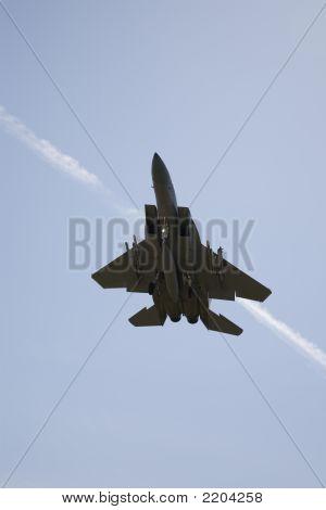 Jet Fighter Flying