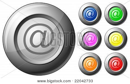Sphere Button Email