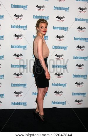 LOS ANGELES - JUL 23:  Gillian Jacobs arriving at the EW Comic-con Party 2011 at EW Comic-con Party 2011 on July 23, 2011 in Los Angeles, CA