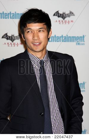 LOS ANGELES - JUL 23:  Harry Shum Jr.  arriving at the EW Comic-con Party 2011 at EW Comic-con Party 2011 on July 23, 2011 in Los Angeles, CA