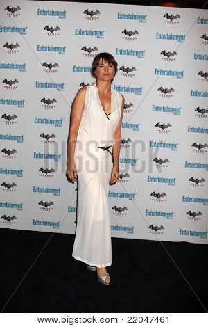 LOS ANGELES - JUL 23:  Lucy Lawless arriving at the EW Comic-con Party 2011 at EW Comic-con Party 2011 on July 23, 2011 in Los Angeles, CA
