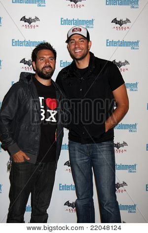 LOS ANGELES - JUL 23:  Joshua Gomez. Zachary Levi arriving at the EW Comic-con Party 2011 at EW Comic-con Party 2011 on July 23, 2011 in Los Angeles, CA