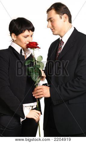 Present A Flower