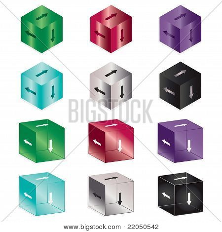 Arrow Cubes