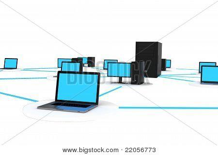 computador lan