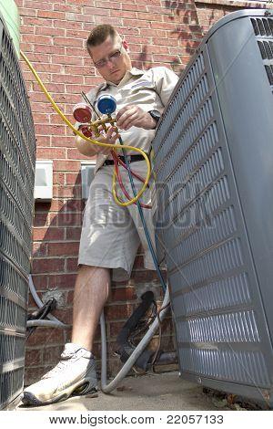 AC Reparatur Mann