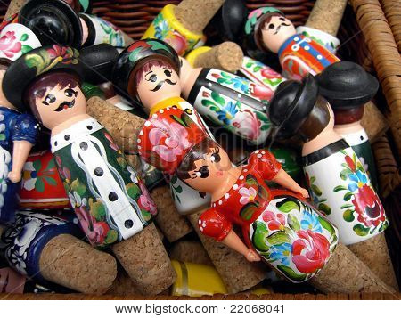Hungarian dolls in traditional costume
