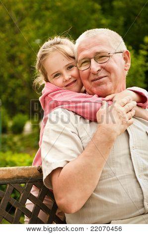 Love - Grandparent With Grandchild Portrait
