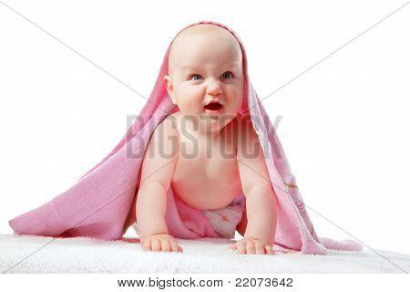 Baby make a face