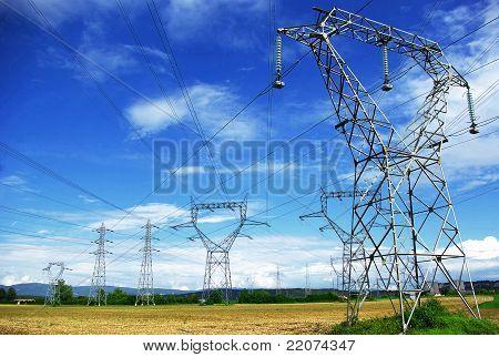 Electric pylones