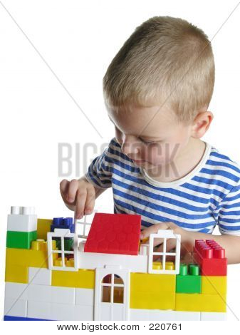 Boy Build House