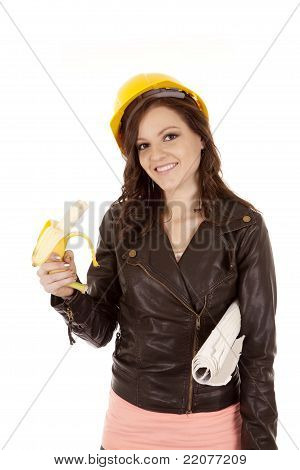 Constructions Woman With Banana