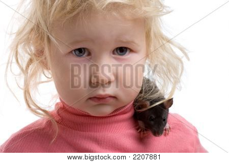 Baby With Rat