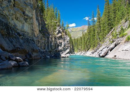 Cascade River, Banff National Park