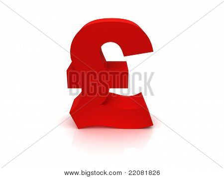 High Quality Pound Sterling Sign