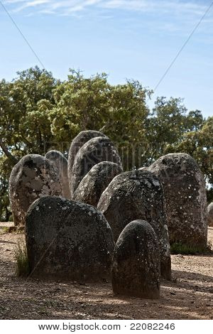 Megalithic Monument Of Almendres, Evora