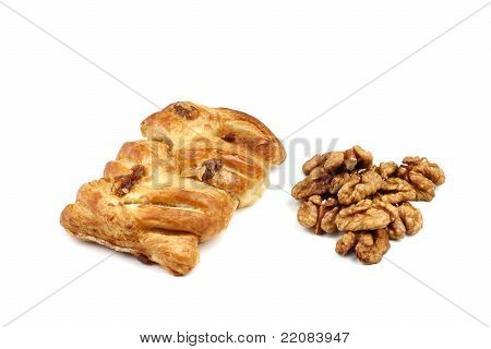 Pastry And Walnuts