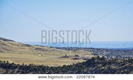 View of Denver from Red Rocks