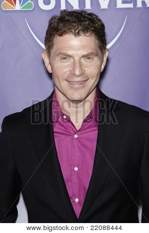 PASADENA - JAN 13: Bobby Flay at the NBC Universal 2011 Winter TCA Press Tour All-Star Party in Pasadena, California on January 13, 2011