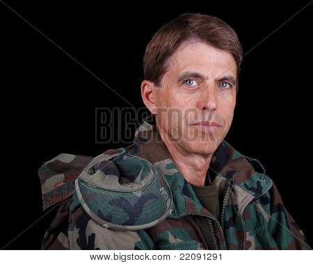 Middle Aged Soldier