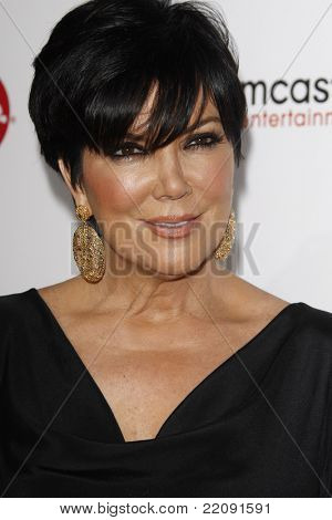 PASADENA - JAN 5: Kris Jenner at the Comcast Entertainment Group TCA Cocktail Reception held at the Langham Hotel, Pasadena, California on January 5, 2011