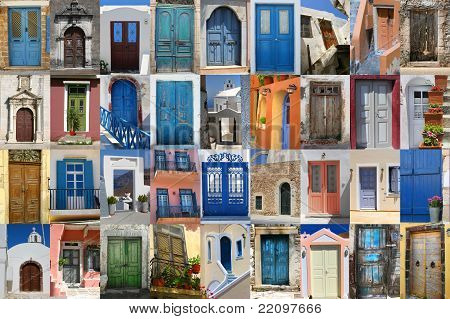 Doors Of Greece Set