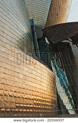 Details of modern architecture: Guggenheim Museum