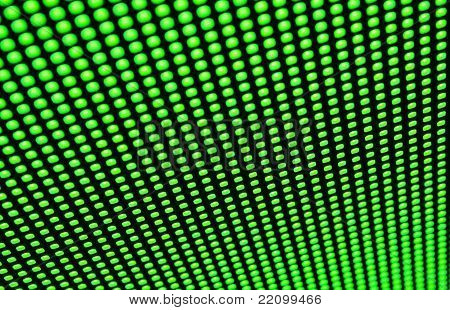 Green Led Matrix