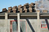 Home Construction Tile Roof