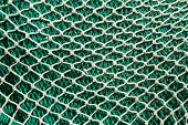 Fishing nets and tackle in Andratx port from mallorca Balearic island