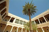 stock photo of riyadh  - ALMURABBA Palace in  Riyadh city in saudi arabia  - JPG
