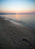 pic of nea  - Nea Vrasna Greece july summer season early in the morning - JPG