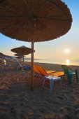 stock photo of nea  - Nea Vrasna Greece july summer season early in the morning - JPG