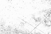 Grunge Black And White Urban Texture. Place Over Any Object Create Black Grunge Effect. Distress Gru poster