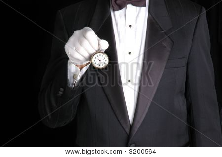 Butler With Watch