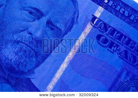 Security Strip on $50 Bill
