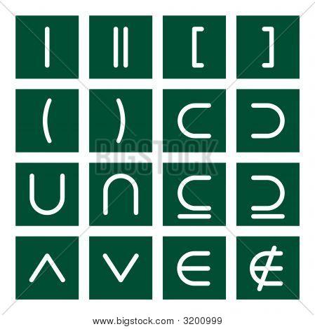 Math Icon Set 3