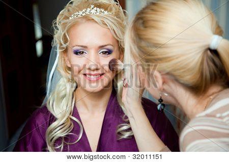 Morning Of Bride