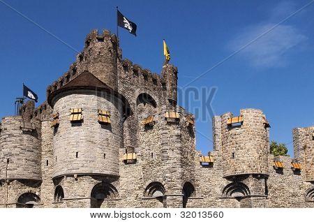 Castle Gravenshteyn In Gent