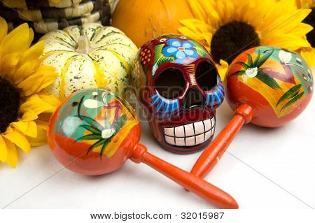Dia De Los Muertos - Day Of The Dead Alter