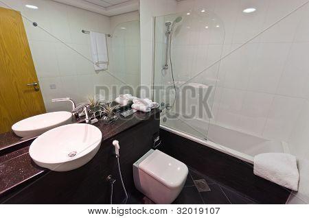 Interior of modern apartment